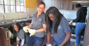 Hoteliers roll up sleeves for children on Mandela Day