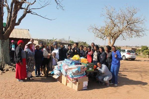 Enterprises UP staff at the Good Hope Community Organisation in Mabopane