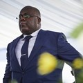 DRC President Felix Tshisekedi during the inauguration ceremony. Hugh Kinsella Cunningham/EPA-EFE