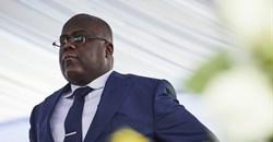 DRC President Felix Tshisekedi during the inauguration ceremony. Hugh Kinsella Cunningham/EPA-EFE
