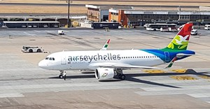 Air Seychelles' new fuel-efficient a320neo welcomed at OR Tambo