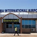 Juba International Airport, pictured in October 2018. Two days before South Sudan's National Security Service detained Al-Watan editor Michael Christopher, the journalist had his passport confiscated at a Juba airport. Credit: CPJ/AFP/Akuot Chol.
