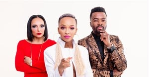 The Next Brand Ambassador judges Nandi Madida, Odette Van Der Haar and Sylvester Chauke. Image supplied.