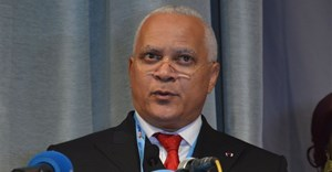 Jean-Marc Thystère-Tchicaya, minister of hydrocarbons of the Republic of Congo