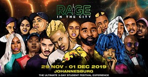 Nasty C, Sho Madjozi and more to perform at Rage In The City