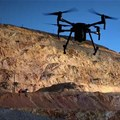 Safe drone usage on mines