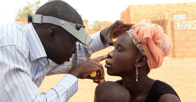 Trachoma can lead to blindness if left untreated. Alaine Kathryn Knipes/CDC