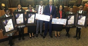 Image: 2019 MPC Schools Competition winners from Midrand High School