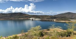 Maguga Dam is one of the hydro power projects in Eswatini