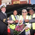 MSC SA christens new vessel, commits to creating jobs for SA's youth
