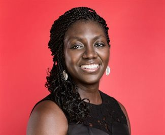 Andrea Opoku, director and Africa ambassador for Women in Marketing.