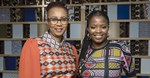 Sphelele Mjadu, Unilever Personal Care Senior Public Relations Manager for Africa and Anne Githuku-Shongwe, representative of UN Women South Africa's Multi-Country Office, in the UN Women-Dove masterclass panel at the Loeries. Image via Al Nicoll © via Gallo Images.
