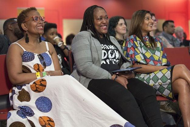 Mathe Okaba, Sithembile Ntombela and Suhana Gordhan