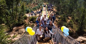 WSP, B2P co-build third footbridge in Rwanda