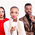 The Next Brand Ambassador judges (L-R), Odette van der Haar, Nandi Madida and Sylvester Chauke. Image supplied.