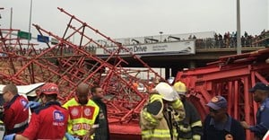 Grayston Bridge collapse. Image: Vision Tactical