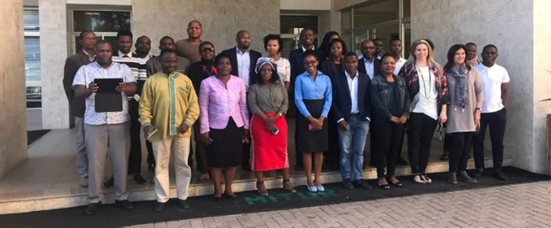 Delegates and facilitators of the CMP TTT at the AUN Academy in Nigeria and the Ministry of Tourism and Culture Maputo in Mozambique.