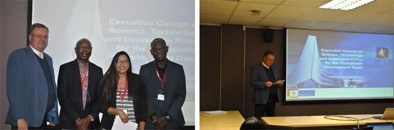 Celebrating the Executive Course on Science, Technology and Innovation Policy for Sustainable Development delegates