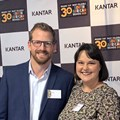Panellists Bradshaw, Walsh and Viviers of Pick n Pay, Takealot and Capitec Bank respectively, with Kantar's Du Chenne.