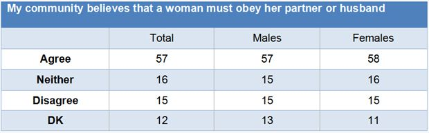 South Africans weigh in on attitudes towards women