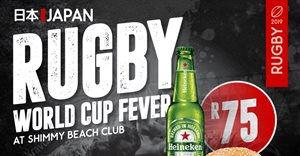 Rugby World Cup screenings at Shimmy Beach Club