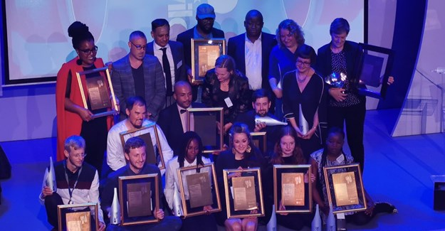 All the Standard Bank Sikuvile Journalism winners. Image supplied.
