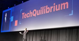 Techquilibrium, as explained at Gartner Symposium 2019. Image via Hypertext Africa on .