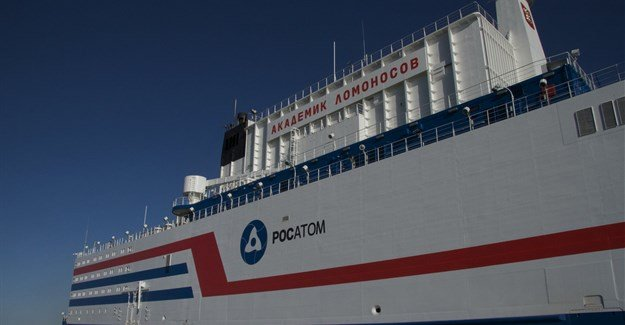 World's first floating nuclear power plant docks in Russia