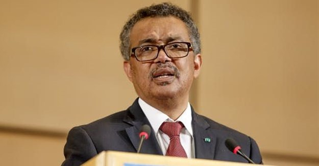 Tedros Ghebreyesus, embarrassed to only talk about Ebola. Salvatore Di Nolfi/EPA