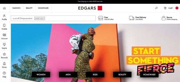 the best attitude cdfd0 38a7c Edgars revamps online store