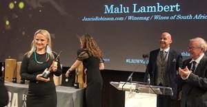SA's Malu Lambert wins at Louis Roederer International Wine Writers' Awards