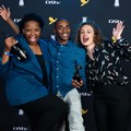 This year's Facebook Student Challenge winners. From left to right Vega's Tshego Kwele, Vini Xavier and Cara Brauckman. Image credit: Julian Carelsen/2019 Loerie Awards.