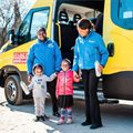 Bus with car seats to transform safety of school transport