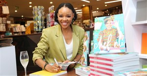Chef Nti at her book launch. Image supplied.