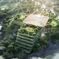 Foster + Partners releases greenery-enhanced design for Shanghai Luye Lilan Hospital