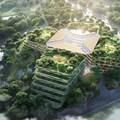 Foster + Partners releases greenery-enhanced design for Shanghai Luye Lilan Hospital