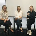 Left to right - IAB SA CEO, Paula Hulley; Stina van Rooyen, the head of brands at Kantar; Camilla Clerke, ECD at HelloFCB; and Luzuko Tena from the paid search team at 2U.