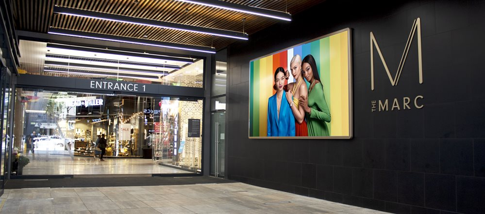 The MARC goes digital with an LED video wall