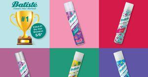 Batiste wins best dry shampoo Glamour Beauty Award