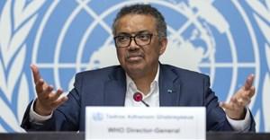 Tedros Adhanom Ghebreyesus, World Health Organisation director-general, speaking on Ebola at the UN's Geneva headquarters. EPA/Martial Trezzinni