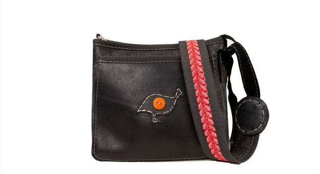 Zambia sling bag. Image supplied.