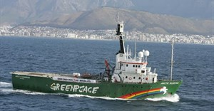 The Arctic Sunrise to dock at the V&A Waterfront