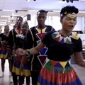 Watch: Woolies and Ndlovu Youth Choir cheer on the Bokke