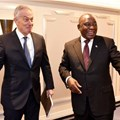 On the sidelines of the FT Africa Summit, President Cyril Ramaphosa met former Prime Minister of Great Britain, Tony Blair at the Claridge's in London.