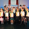 Young mathematicians celebrated at a prestigious award ceremony