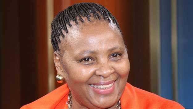 South Africa's Minister of Defence and Military Veterans Nosiviwe Noluthando Mapisa-Nqakula