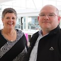 Leigh Venter and Henri la Grange. T-Systems South Africa