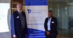 Alastair Tempest and Mpho Sekwele from EFSA.