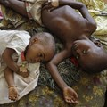 Millions of young children get malaria. These two got it in 2010.