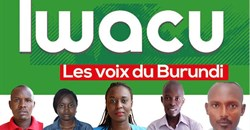 Four Iwacu journalists, from left, Térence Mpozenzi, Agnès Ndirubusa, Christine Kamikazi, Egide Harerimana, and their driver, Adolphe Masabarikiza, are detained in Burundi. Credit: CPJ/Iwacu Media.